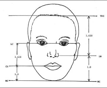 Sri yantra research figure 3 golden ratio beauty mask ccuart Image collections